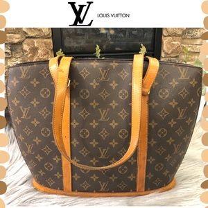 Authentic Louis Vuitton Monogram Babylone bag